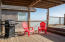 34620 Ocean Dr., Pacific City, OR 97135 - sheltered lower deck