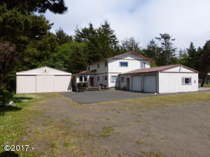 11221 NW Pacific Coast Hwy, Seal Rock, OR 97376 - From the driveway