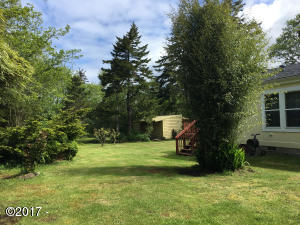 9362 NW Lark St, Seal Rock, OR 97376 - New back yard