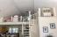 6345 SW Arbor Dr, Newport, OR 97366 - Stairs to loft