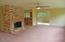 404 E Evans Dr, Tidewater, OR 97390 - Living area w/FP