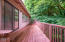 346 N Ashcroft St., Otis, OR 97368 - Back deck