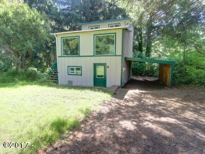 9856 NE Benton St, Newport, OR 97365 - Front of Home