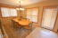 5795 Barefoot Ln. Share A, Pacific City, OR 97135 - Dining area