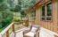 847 Hamer Rd, Siletz, OR 97380 - Deck off Kitchen