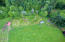 847 Hamer Rd, Siletz, OR 97380 - Aerial of fruit trees/sheds