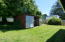 1025 S Crestline Dr, Waldport, OR 97394 - Garden shed