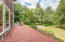 64 N Gerber Ct., Otis, OR 97368 - Deck overlooks the property