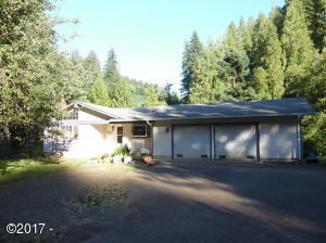 3329 E Five Rivers Rd, Tidewater, OR 97390 - Front