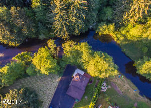 43305 Little Nestucca River Road, Cloverdale, OR 97112 - Atop river