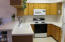 96 Nw 33rd Place, #B, Newport, OR 97365 - Kitchen has breakfast bar