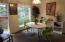 96 Nw 33rd Place, #B, Newport, OR 97365 - Dining area w/views of woods