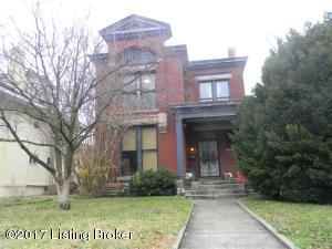 605 W ORMSBY AVE, LOUISVILLE, KY 40203  Photo