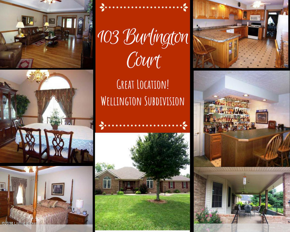 103 Burlington Ct, Bardstown, Kentucky 40004, 3 Bedrooms Bedrooms, 7 Rooms Rooms,4 BathroomsBathrooms,Residential,For Sale,Burlington,1511284