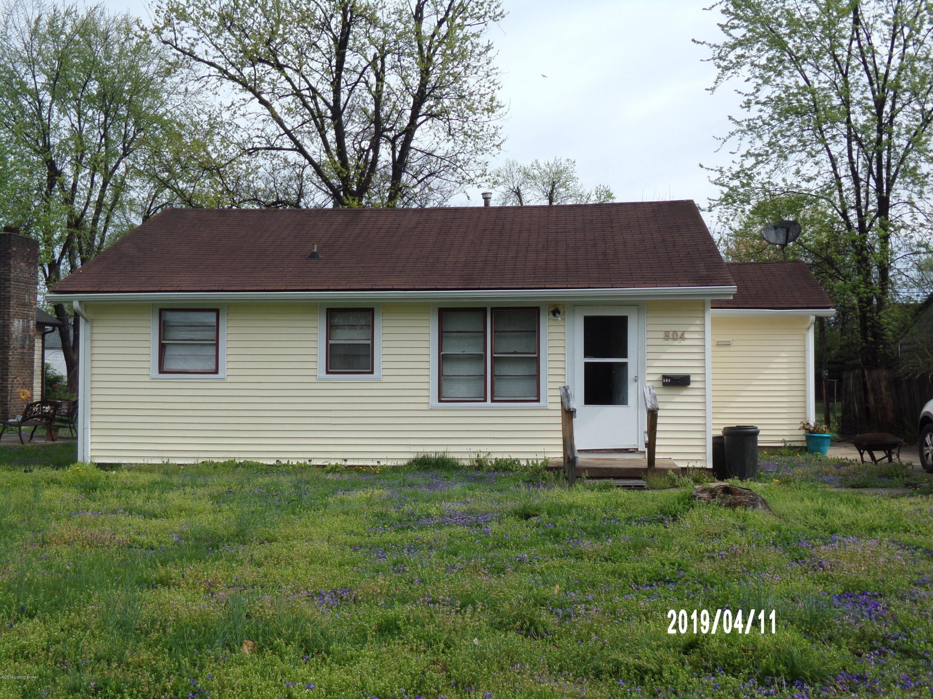 804 Bartley Ave, Bardstown, Kentucky 40004, 2 Bedrooms Bedrooms, 5 Rooms Rooms,1 BathroomBathrooms,Residential,For Sale,Bartley,1529218