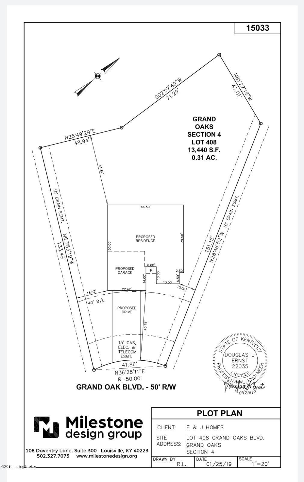 Lot 408 Grand Oak Blvd, Shepherdsville, Kentucky 40165, 3 Bedrooms Bedrooms, 7 Rooms Rooms,2 BathroomsBathrooms,Residential,For Sale,Grand Oak,1531089