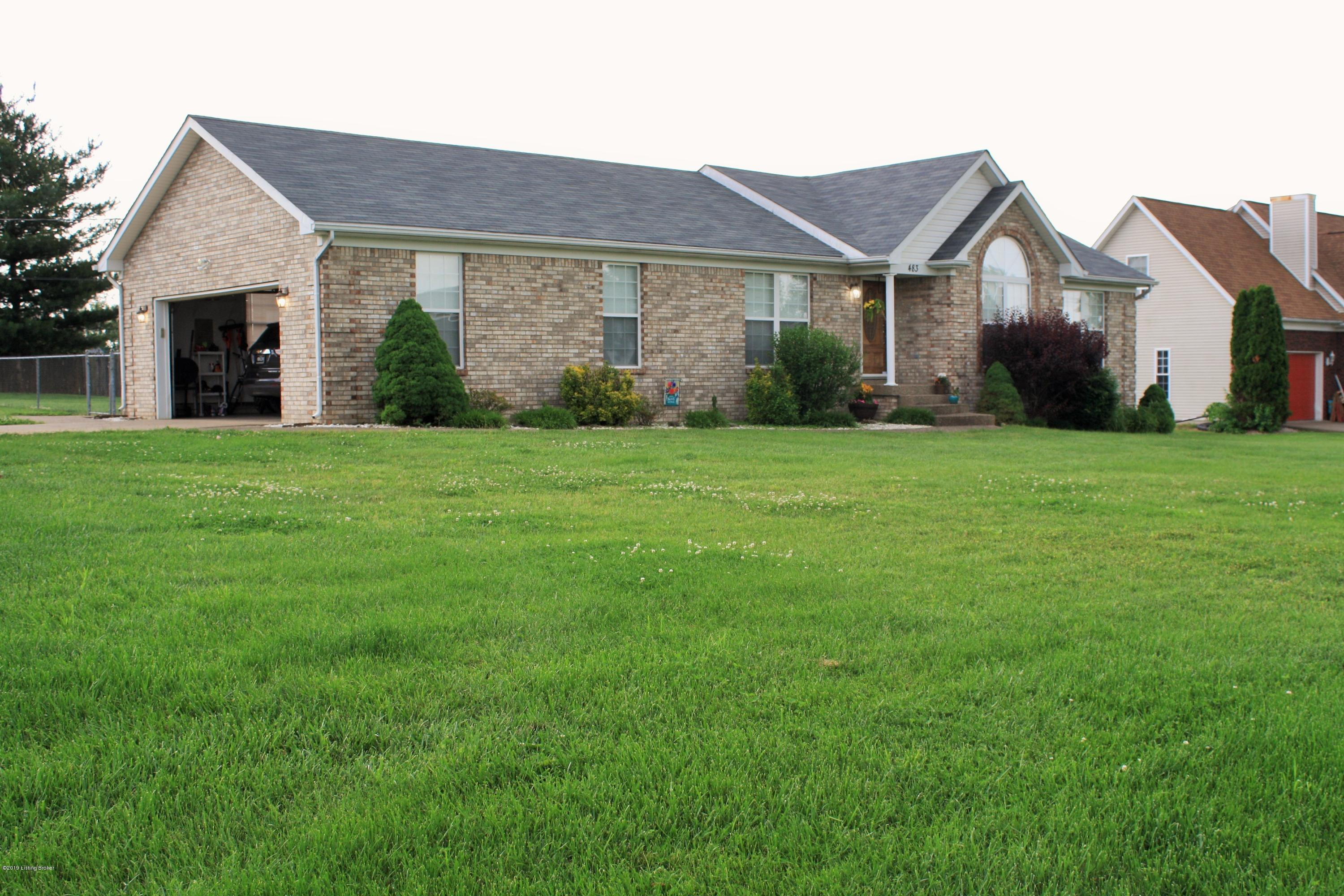 483 Mary David Dr, Shepherdsville, Kentucky 40165, 3 Bedrooms Bedrooms, 6 Rooms Rooms,2 BathroomsBathrooms,Residential,For Sale,Mary David,1533506