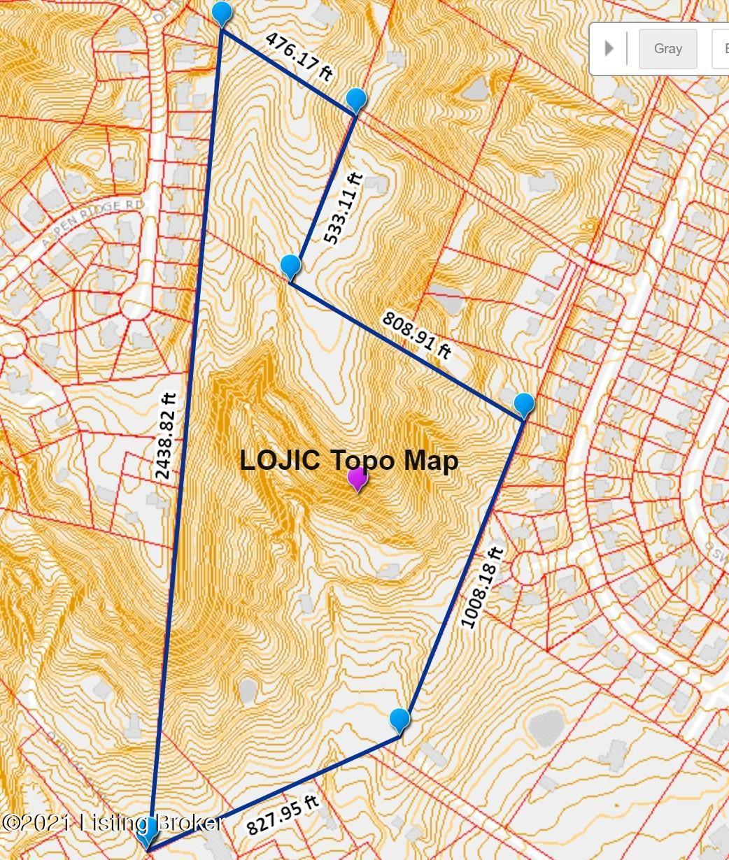 LOJIC Topo Map 7600 St Andrews Ch 210519