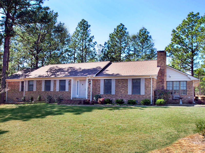 117  Pine Lake Drive, Whispering Pines in Moore County, NC 28327 Home for Sale