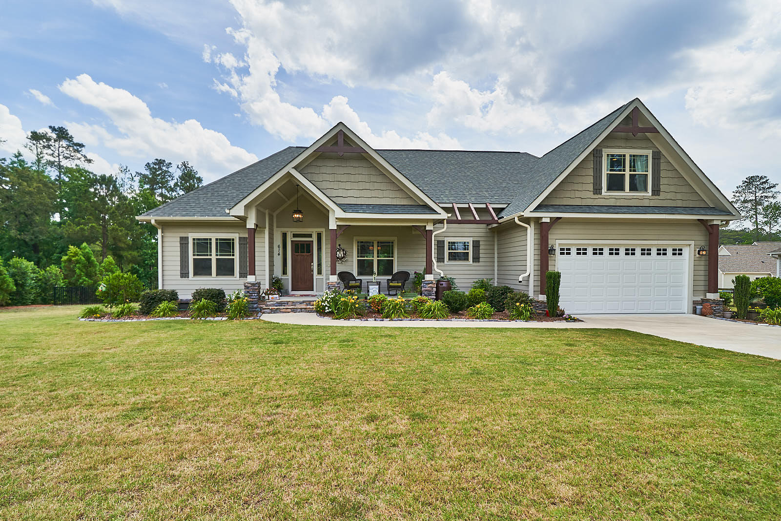 614  Herons Brook Drive, Whispering Pines in Moore County, NC 28327 Home for Sale