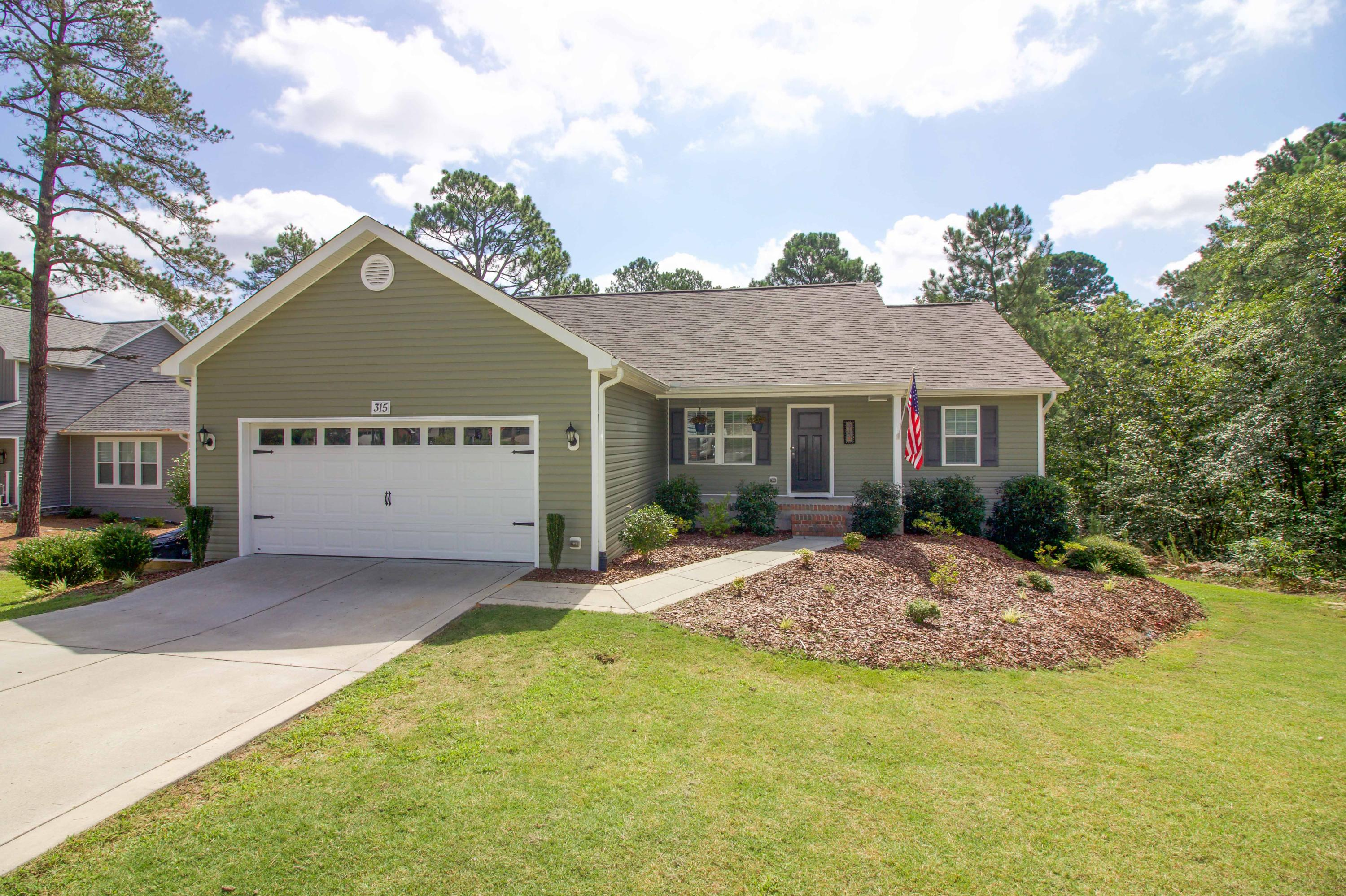 315  Adams Circle, Pinehurst in Moore County, NC 28374 Home for Sale