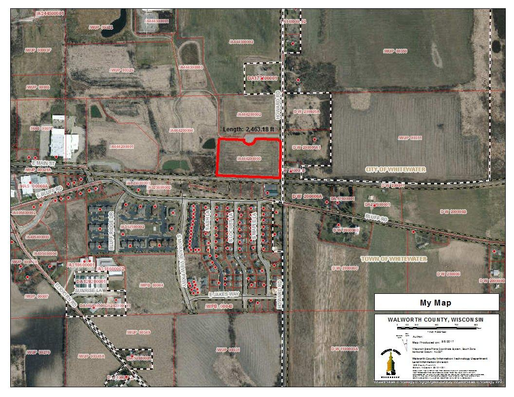Lt3 Howard Rd, Whitewater, Wisconsin 53190, ,Vacant Land,For Sale,Howard Rd,1528091