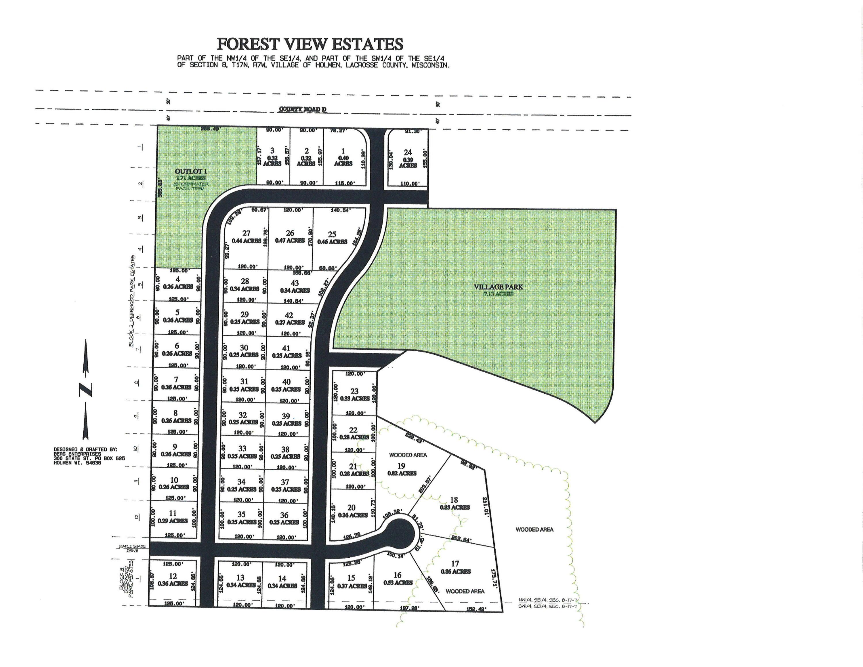 Lot 1 Forest View Estates<br /> Holmen,La Crosse,54636,Vacant land,Forest View Estates,1560175