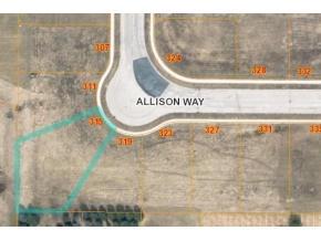 L13 Allison Way, Campbellsport, Wisconsin 53010, ,Vacant Land,For Sale,Allison Way,1591716