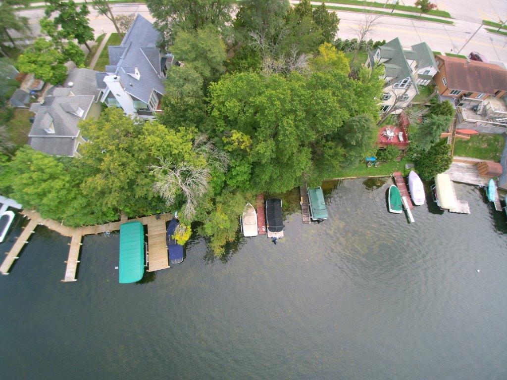 aerial lake side