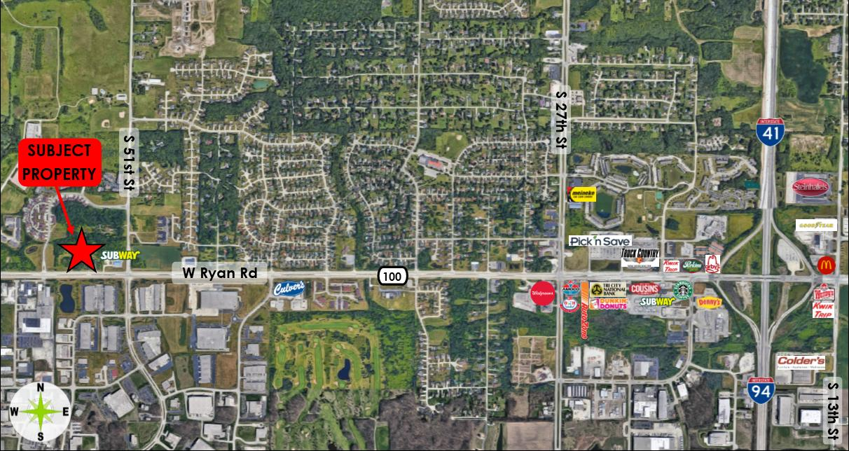 5332 Ryan Rd, Franklin, Wisconsin 53132, ,Vacant Land,For Sale,Ryan Rd,1677342