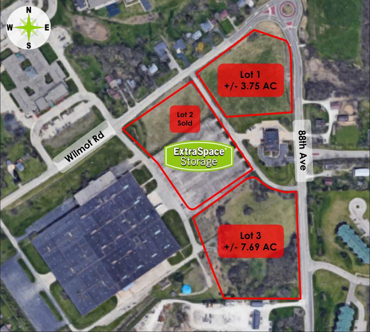 Lt0 Wilmot Rd, Pleasant Prairie, Wisconsin 53158, ,Vacant Land,For Sale,Wilmot Rd,1675669