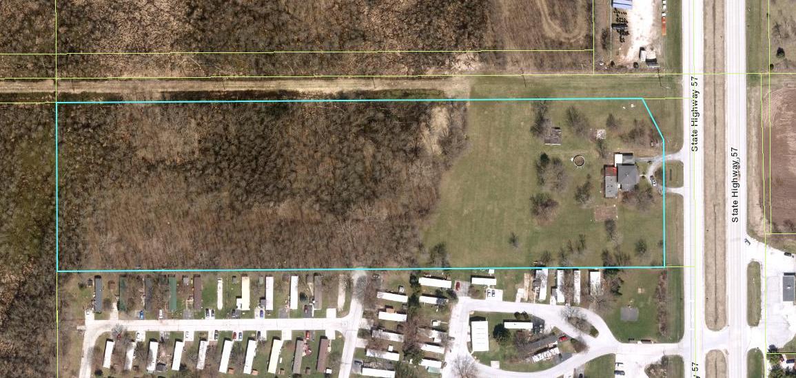 Aerial -- 9.92 Acres