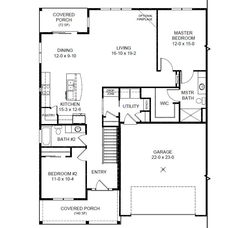 rivermoor floor plan