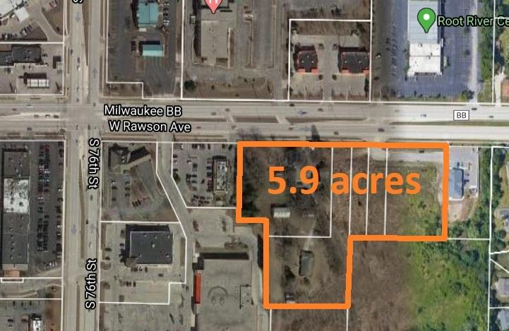 7401 Rawson Ave, Franklin, Wisconsin 53132, ,Vacant Land,For Sale,Rawson Ave,1691204