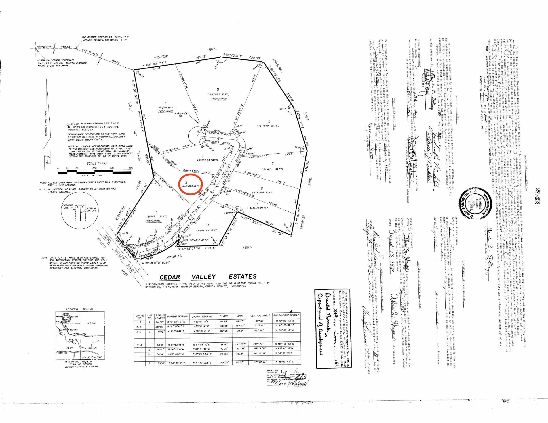 Lot 2 Cedar Valley Estates, Bergen, Wisconsin 54658, ,Vacant Land,For Sale,Cedar Valley Estates,1699306