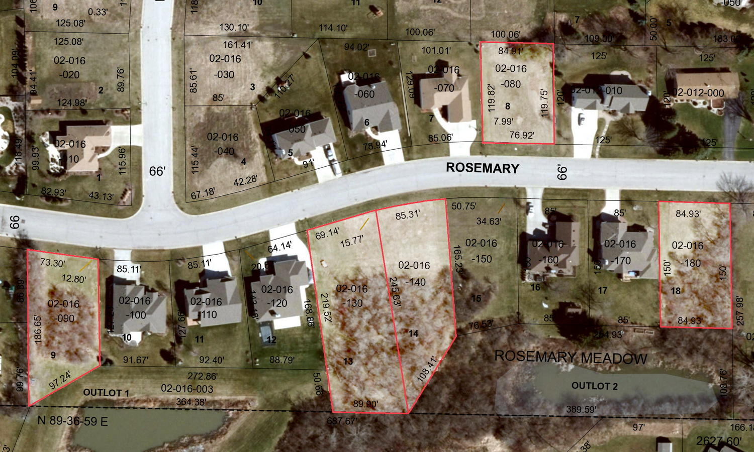 0 Rosemary Ln, Mount Pleasant, Wisconsin 53406, ,Vacant Land,For Sale,Rosemary Ln,1701469