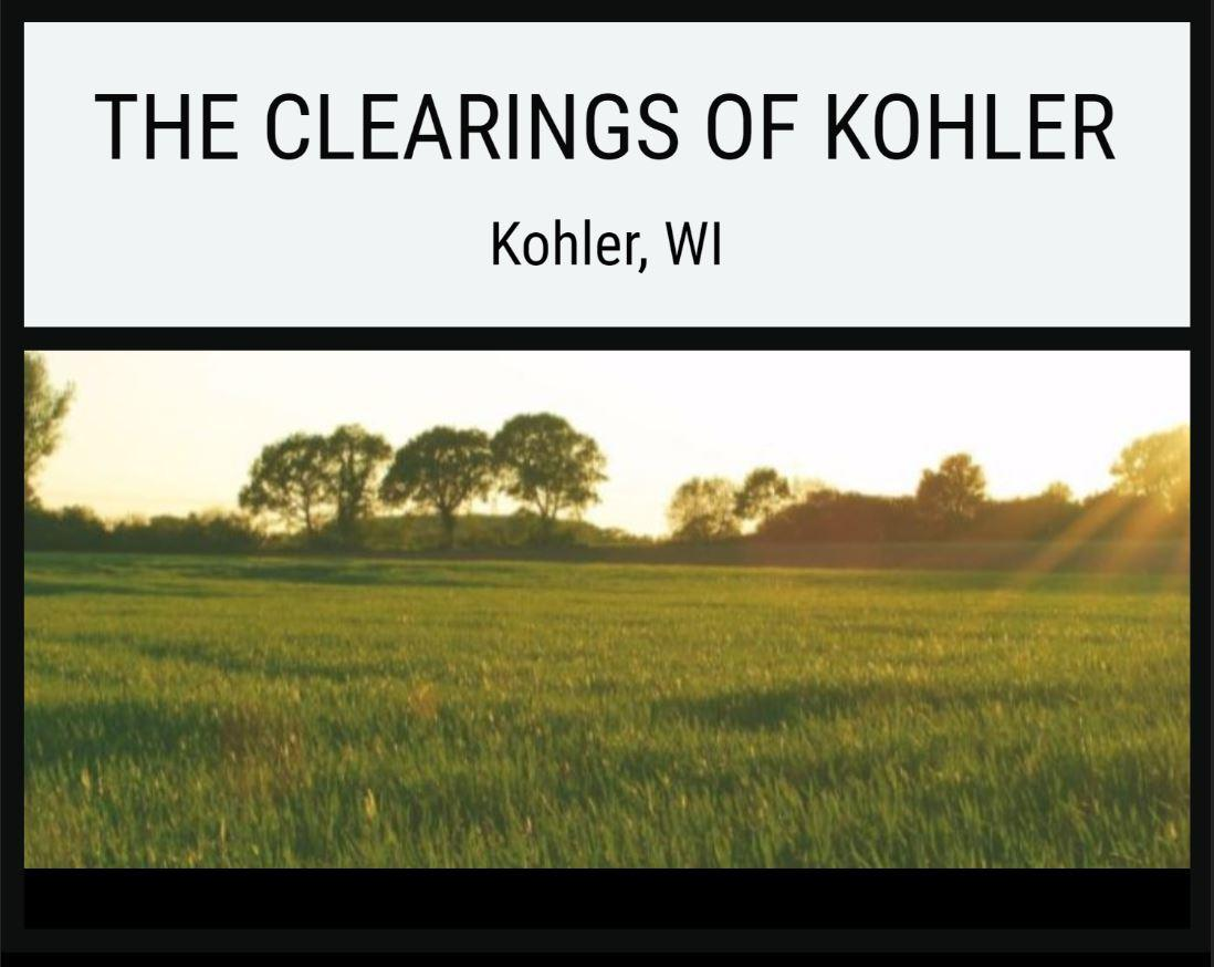 Lot 1 The Clearings, Kohler, Wisconsin 53044, ,Vacant Land,For Sale,The Clearings,1703066