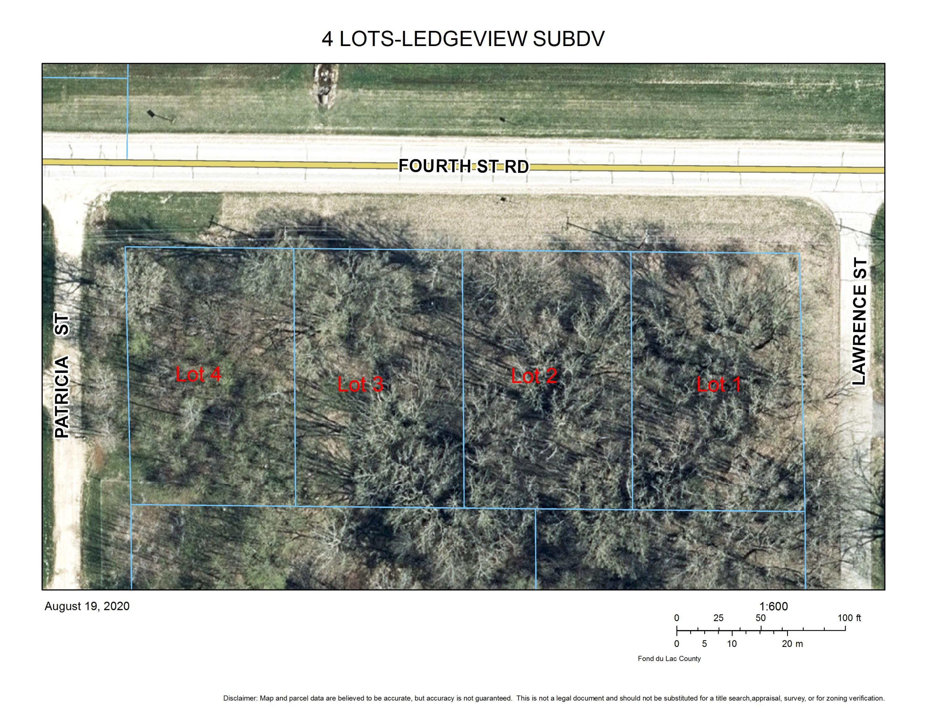 Lt4 4th St, Empire, Wisconsin 54937, ,Vacant Land,For Sale,4th St,1705228