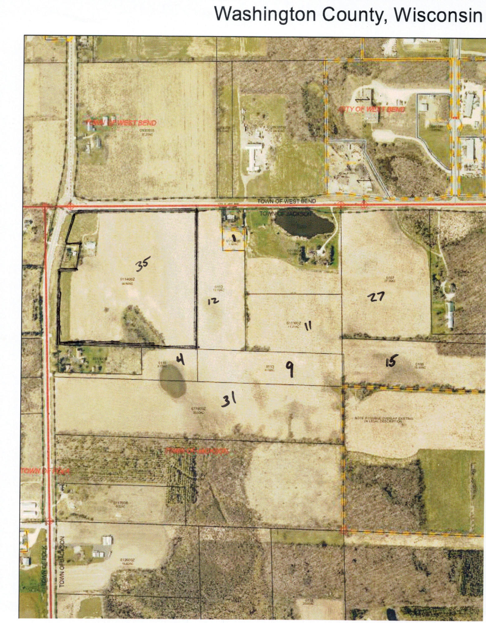 Property for sale at Lt0 County Road Nn, West Bend,  Wisconsin 53095