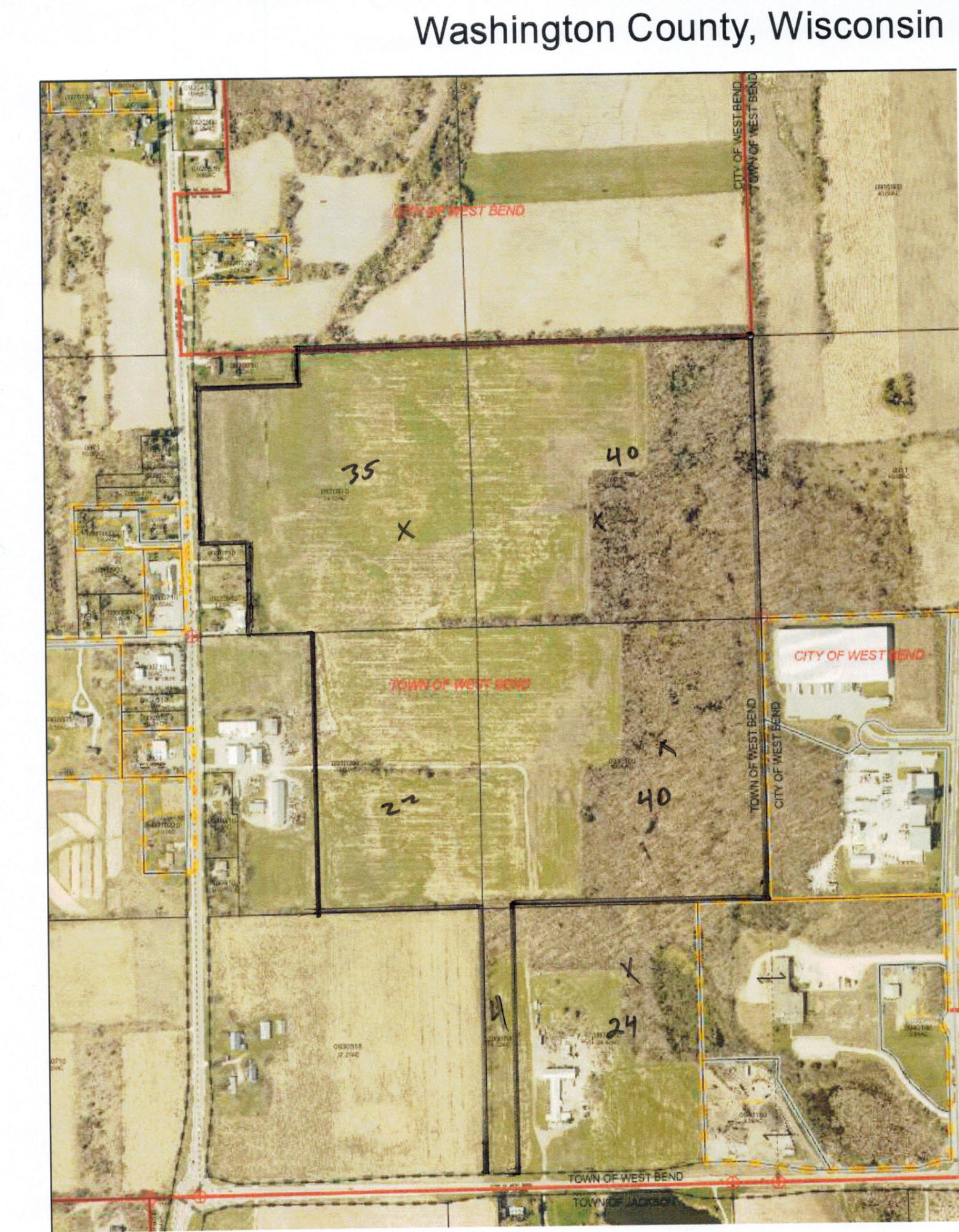 Property for sale at Lt0 County Road P, West Bend,  Wisconsin 53095