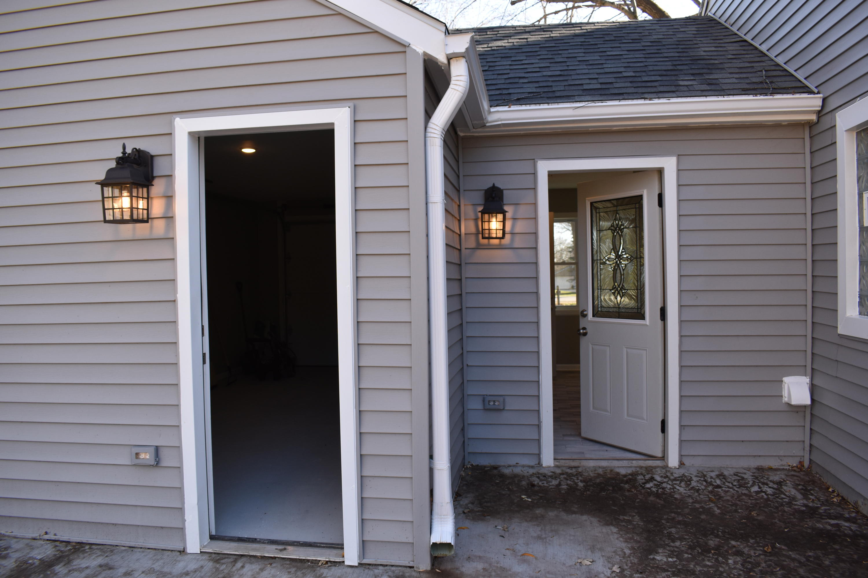 Garage and Laundry room Exit
