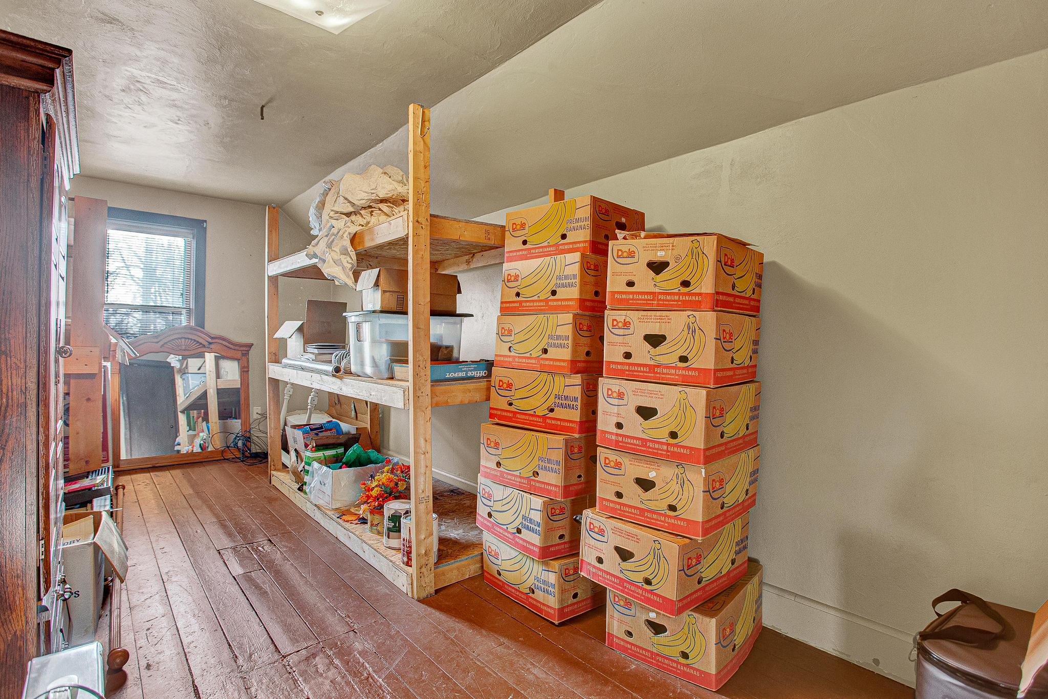 Upper Bonus and Storage Room