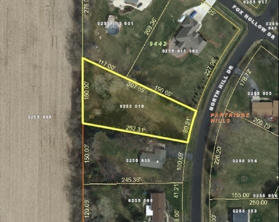 GIS Map Lot 10 North Hill