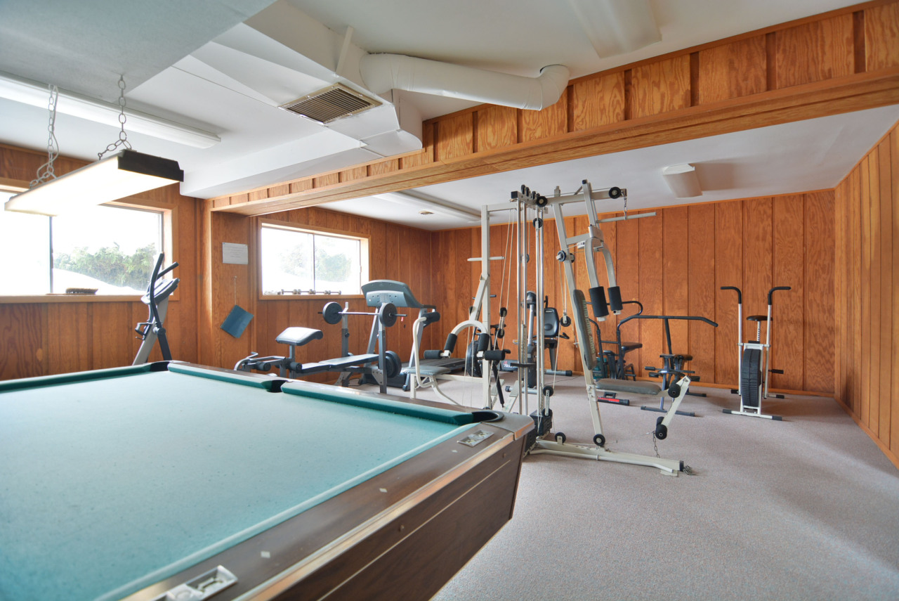 Play Pool or Exercise