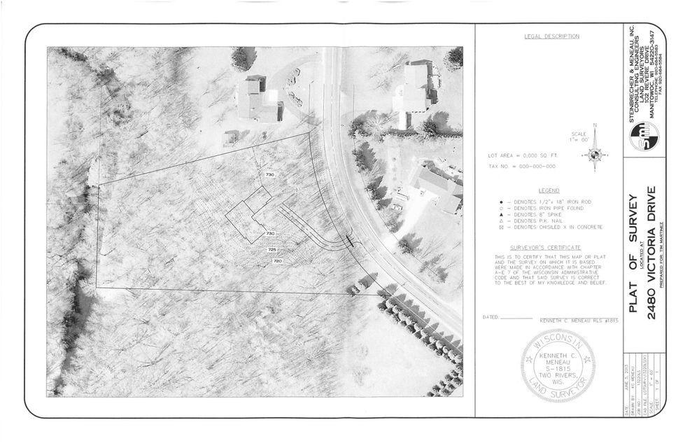 2480 Victoria Dr, Manitowoc Rapids, Wisconsin 54220, ,Vacant Land,For Sale,Victoria Dr,1722175