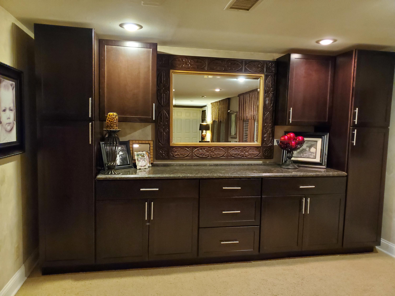 Lower Level - Custom Cabinets