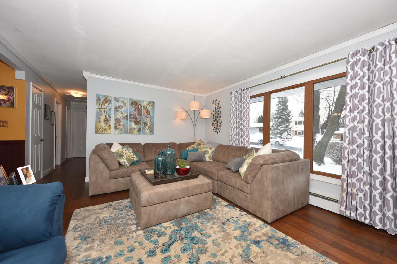 Gracious Living Room on Main
