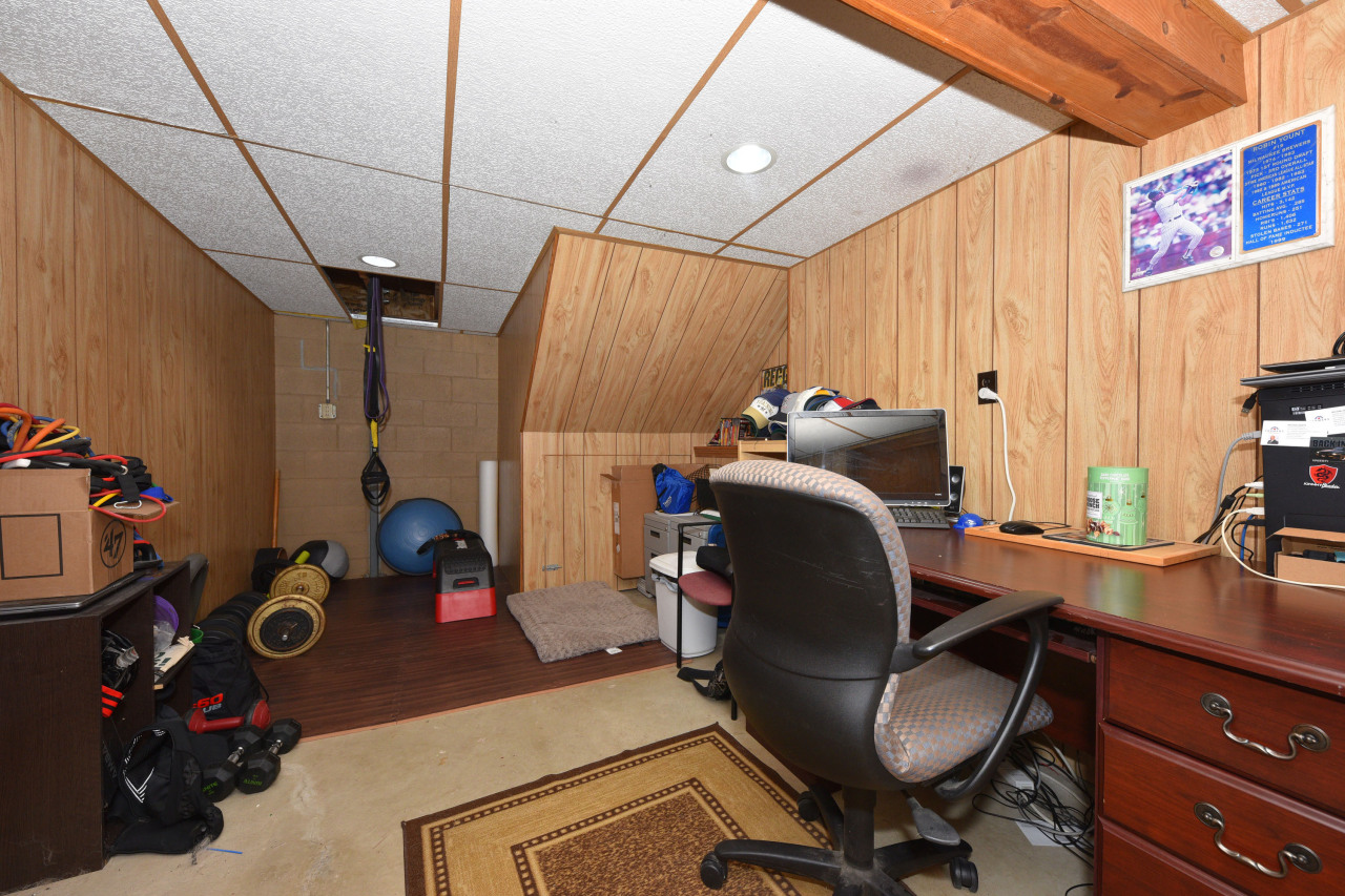 Office in Lower Level Too!