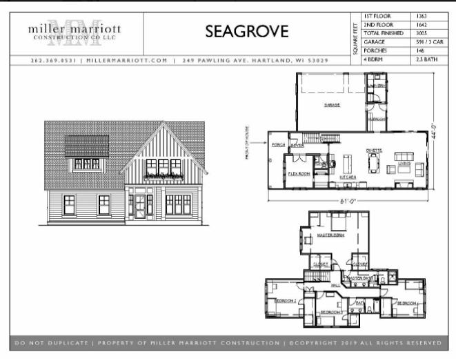 Seagrove Floor Plans