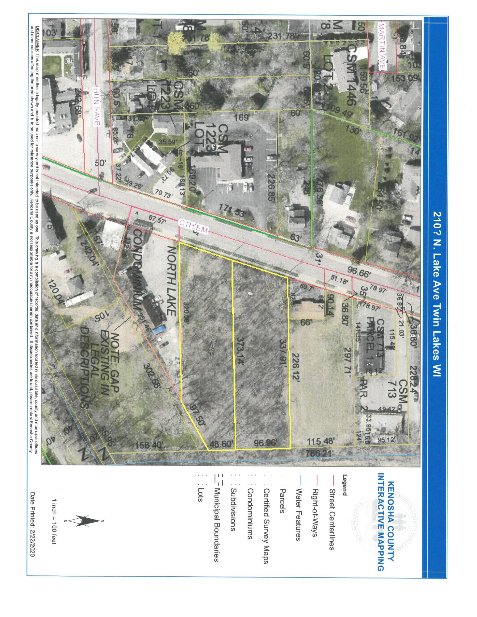 Lt1 Lake Ave, Twin Lakes, Wisconsin 53181, ,Vacant Land,For Sale,Lake Ave,1722684